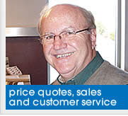 Price Quotes, Sales and Customer Service
