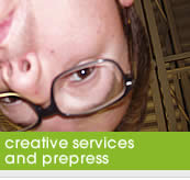Creative Services and Prepress